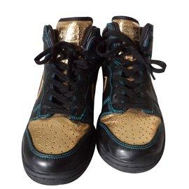 Nike-Sneaker cuir-Noir