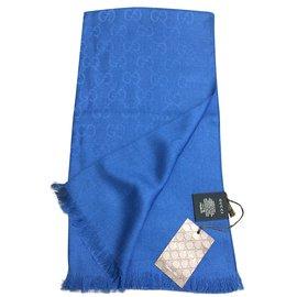 Gucci-signature micro guccissima-Bleu