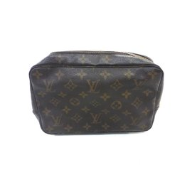 Louis Vuitton-Trousse de toilette 23 monogram-Marron