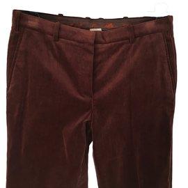 Hermès-velvet-Dark brown
