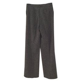 Céline-Pantalons, leggings-Gris