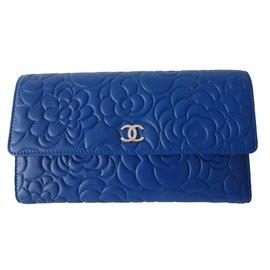 Chanel-CAMELIA LEAFLET-Blue,Grey