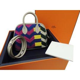 Hermès-MINI Bolide SERIE LIMITEE ZIG ZAG-Multicolore