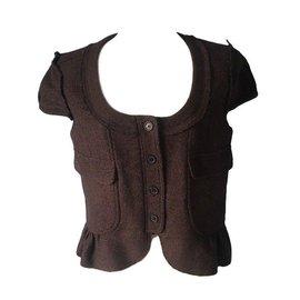 Burberry-Spencer or vest-Brown