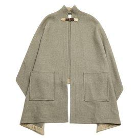Chloé-Gris taupe cloak-Grey,Taupe
