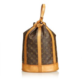 Louis Vuitton-Monogram Randonnee GM-Marron