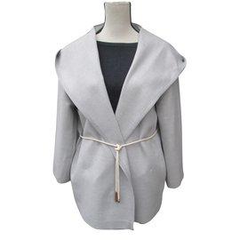 Fabiana Filippi-Merino Coats-Grey