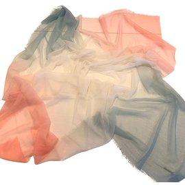 Chanel-CHALE CACHEMIRE-Multicolore