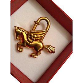 Hermès-Charmes de sac-Doré