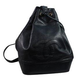 Chanel-Backpack-Blue