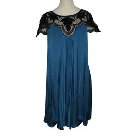 Temperley London-Dresses-Black,Turquoise