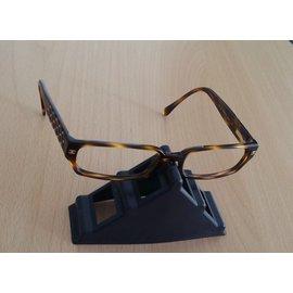 Chanel-Modele ecaille marron.-Multicolore