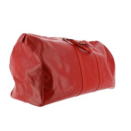 Louis Vuitton-Et Keepall 60-Rouge