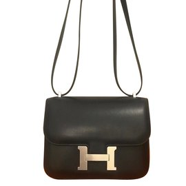 Hermès-Constancy mini 18-Black