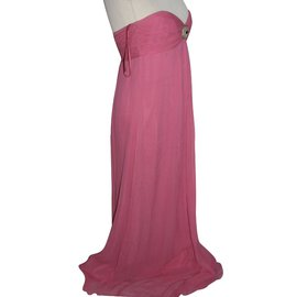 Temperley London-Evening gown silk-Pink