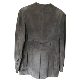 Hermès-Jackets-Grey