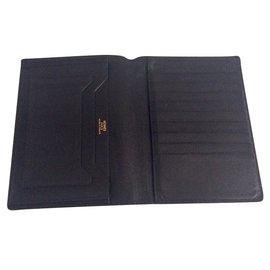 Hermès-Portefeuilles-Noir