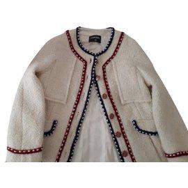 Chanel-Jackets-Cream