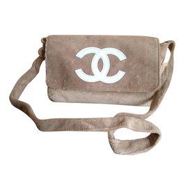 Chanel-Pouch-Beige
