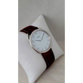 Hermès-Fine watches-White