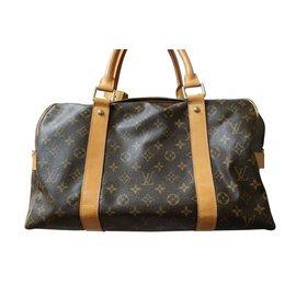Louis Vuitton-VUITTON - CARRYALL sac de voyage-Marron foncé