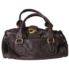 Chloé-paddington-Dark brown