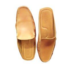 Tod's-Men Sandals-Caramel