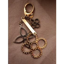 Louis Vuitton-Bag charms-Golden