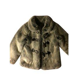Autre Marque-Joli manteau-Gris
