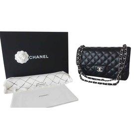 Chanel-Gm classic chanel bag-Black