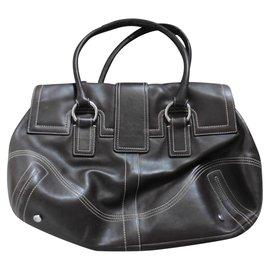 Coach-Handbags-Brown