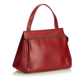 Céline-Grand sac de bord-Rouge