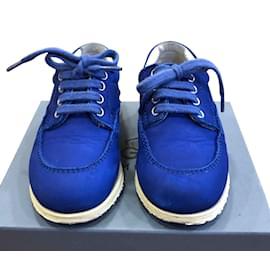 Hogan-Chaussures de sport à lacets-Bleu
