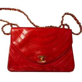 Chanel-Sac Rouge-Rouge