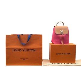 Louis Vuitton-Sac à dos Lockme-Multicolore