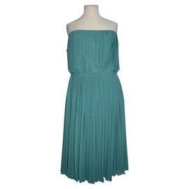Halston Heritage-Dresses-Green