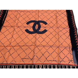 Chanel-SILK SCARF-Other