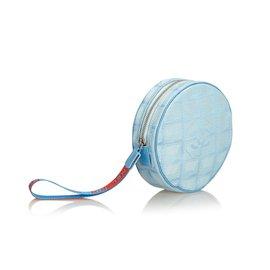 Chanel-Nouvelle pochette de voyage-Bleu