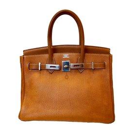 Hermès-Birkin 30-Marron clair