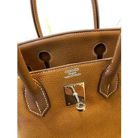 Hermès-Birkin 30-Light brown