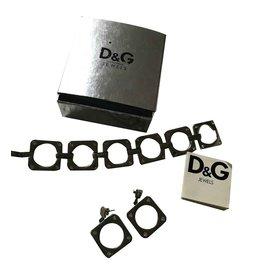 Dolce & Gabbana-Ensembles de bijoux-Argenté