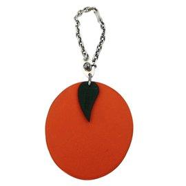 Hermès-Bijoux de sac-Orange
