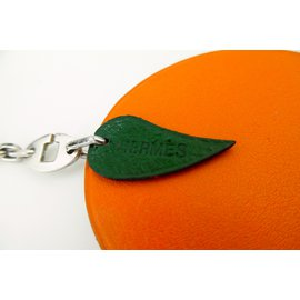 Hermès-Bag charm-Orange