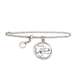 Hermès-Pendentif bracelet argent 925-Argenté