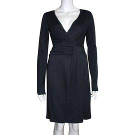 Halston Heritage-Drape dress-Dark grey