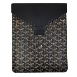 Goyard-Porte ipad ou porte document-Noir