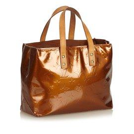 Louis Vuitton-Vernis Reade PM-Marron,Bronze