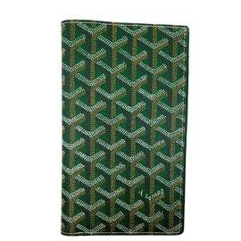 Goyard-Geldbörsen Kleines Zubehör-Hellgrün