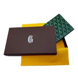 Goyard-Carteiras Pequenos acessórios-Verde claro