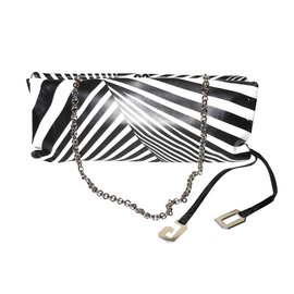 Dolce & Gabbana-Clutch bags-Black,White